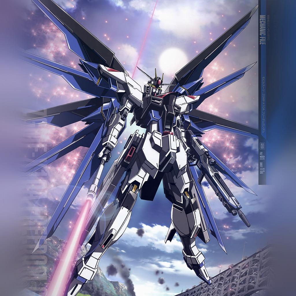Gundam Iphone Wallpaper: Medium