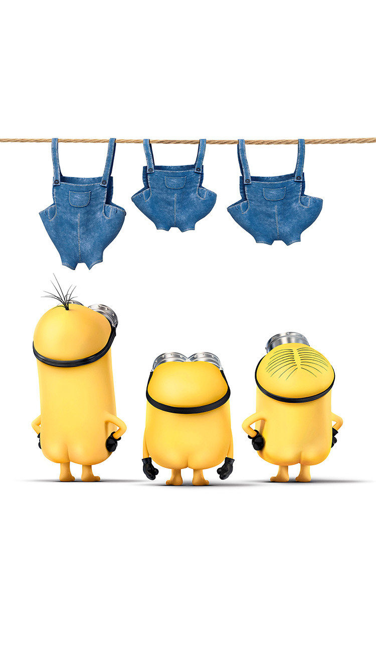 iPhone7papers.com-Apple-iPhone7-iphone7plus-wallpaper-ar89-minions-despicable-nude-me-cute-yellow-art-illustration