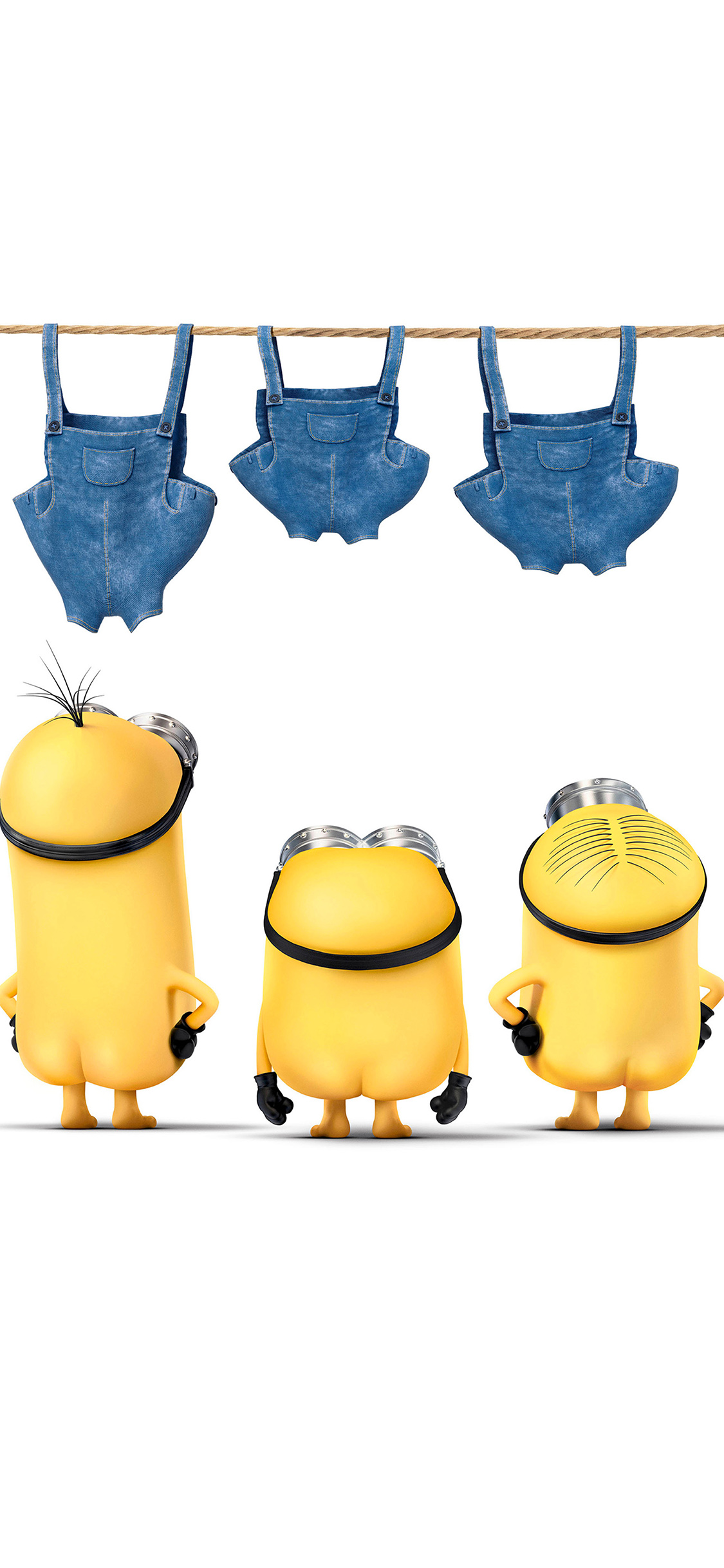 iPhoneXpapers.com-Apple-iPhone-wallpaper-ar89-minions-despicable-nude-me-cute-yellow-art-illustration
