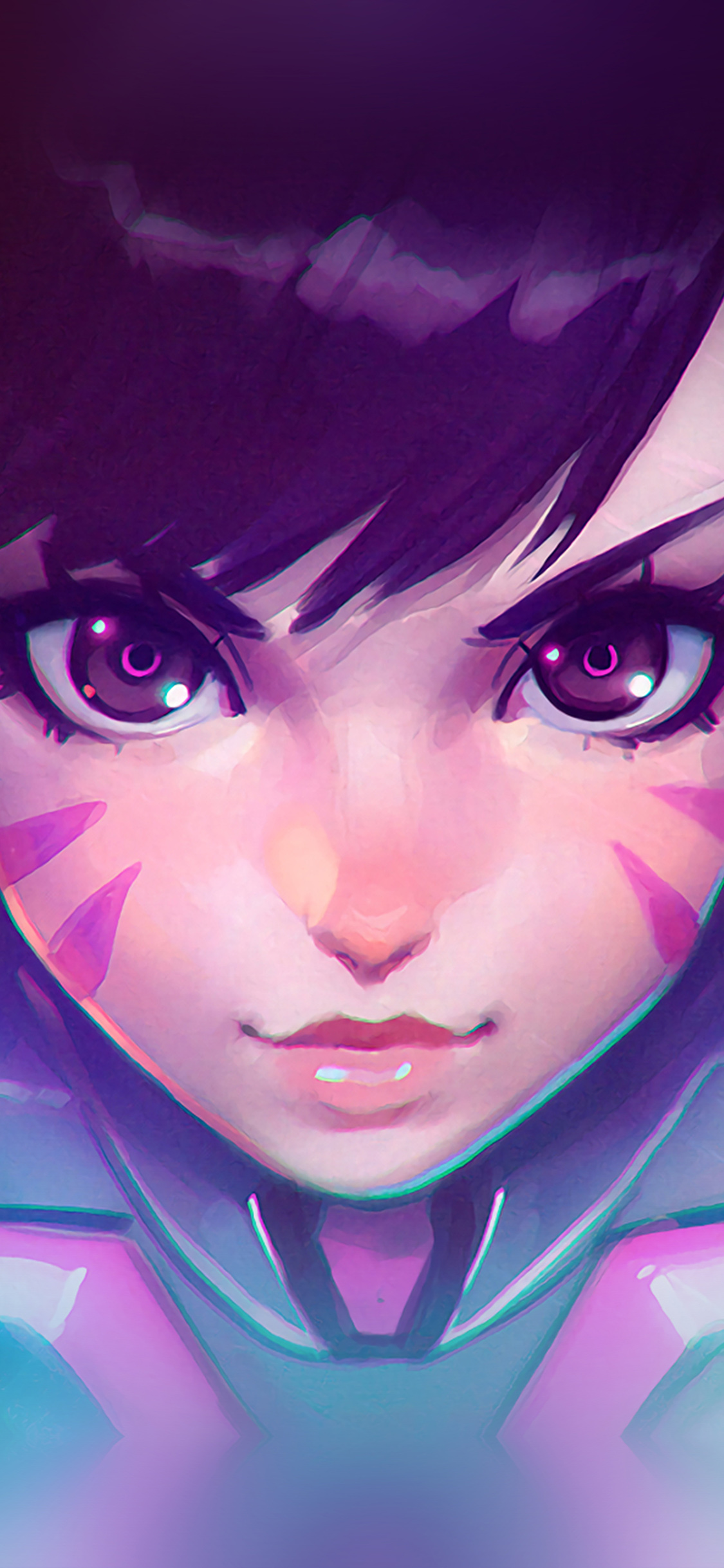 iPhoneXpapers.com-Apple-iPhone-wallpaper-ar94-overwatch-diva-cute-game-art-illustration