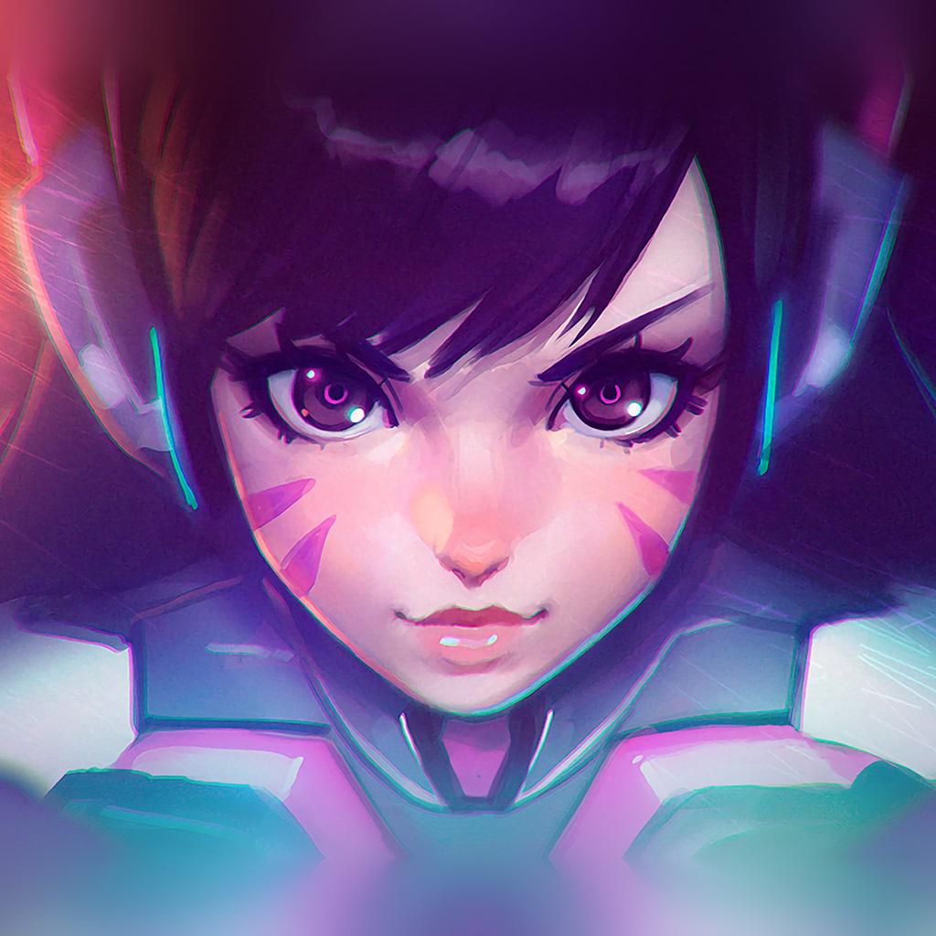 android-wallpaper-ar94-overwatch-diva-cute-game-art-illustration-wallpaper