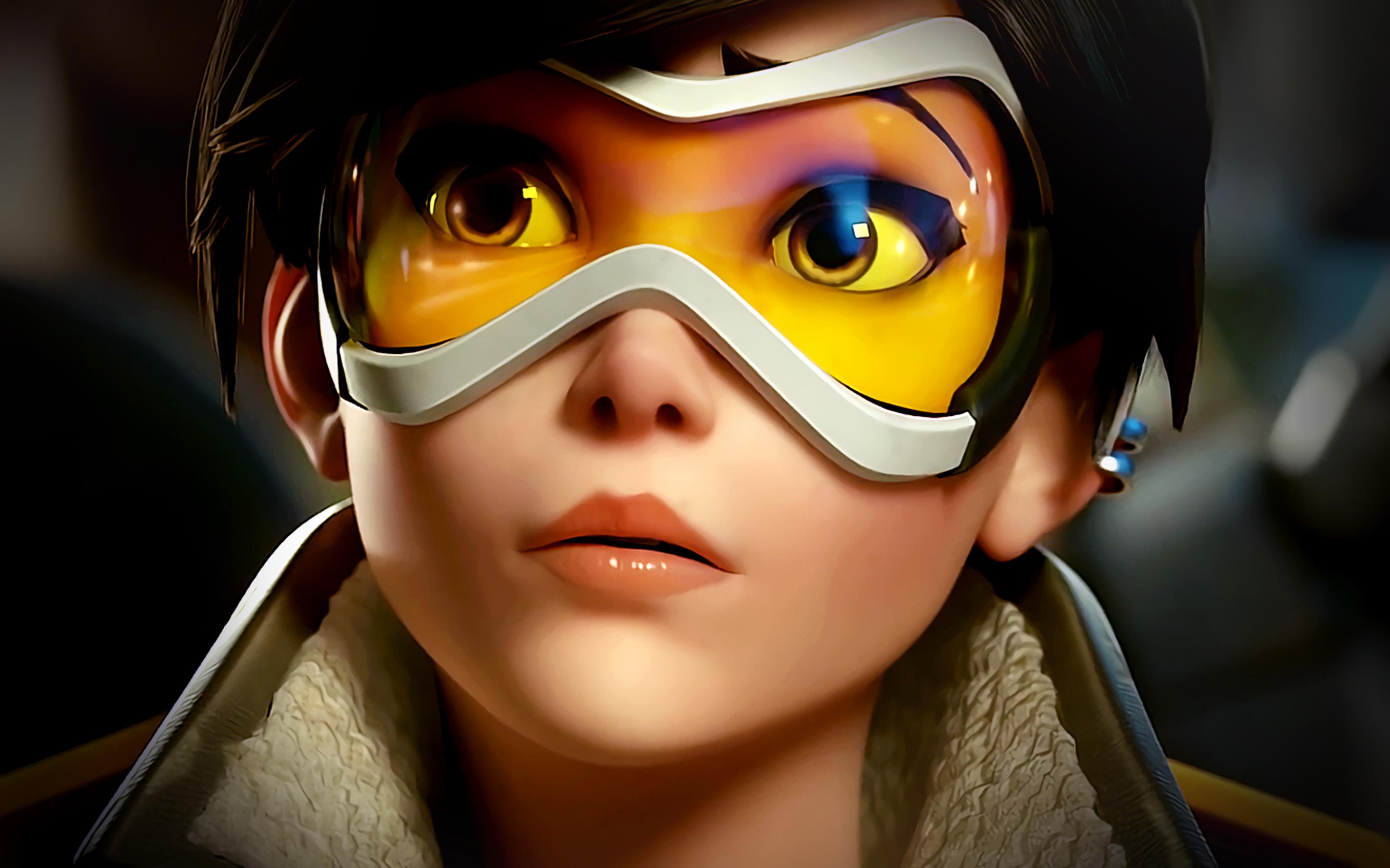 ar95-overwatch-tracer-england-game-art-illustration-wallpaper
