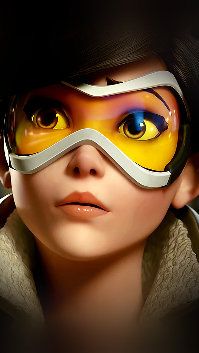 Iphone7papers Com Iphone7 Wallpaper Ar95 Overwatch Tracer