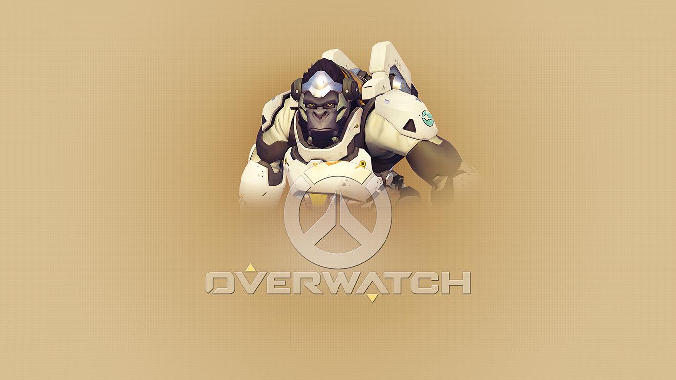 desktop-wallpaper-laptop-mac-macbook-air-ar96-overwatch-winston-cute-game-art-illustration-wallpaper