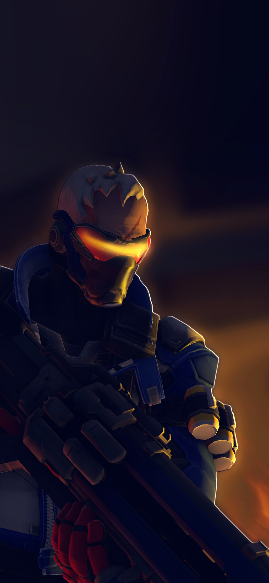 iPhoneXpapers.com-Apple-iPhone-wallpaper-ar98-overwatch-solder-game-art-illustration
