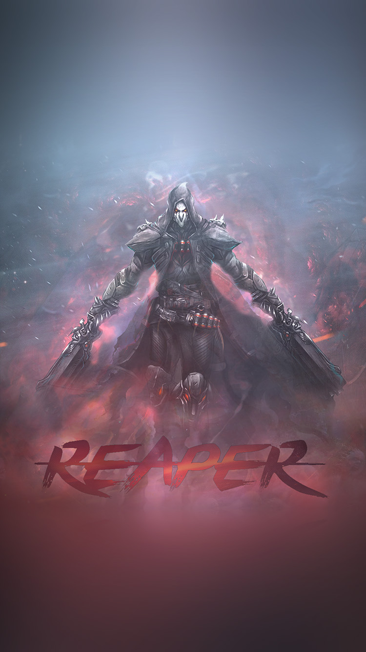 iPhone6papers.co-Apple-iPhone-6-iphone6-plus-wallpaper-ar99-overwatch-reaper-game-art-illustration