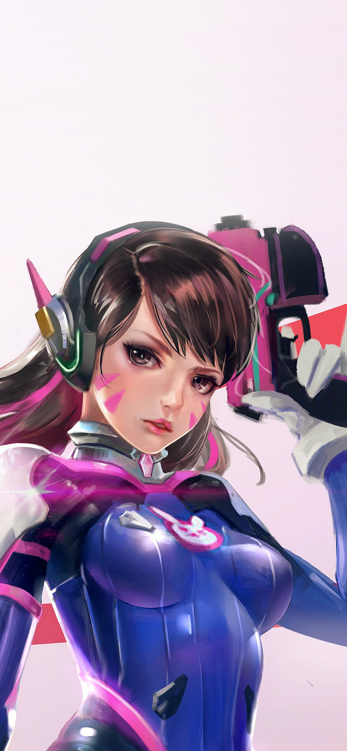 iPhoneXpapers.com-Apple-iPhone-wallpaper-as00-overwatch-diva-cute-game-art-illustration