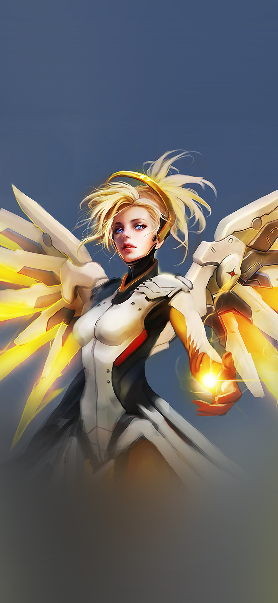 iPhoneXpapers.com-Apple-iPhone-wallpaper-as01-overwatch-mercy-cute-game-art-illustration-angel