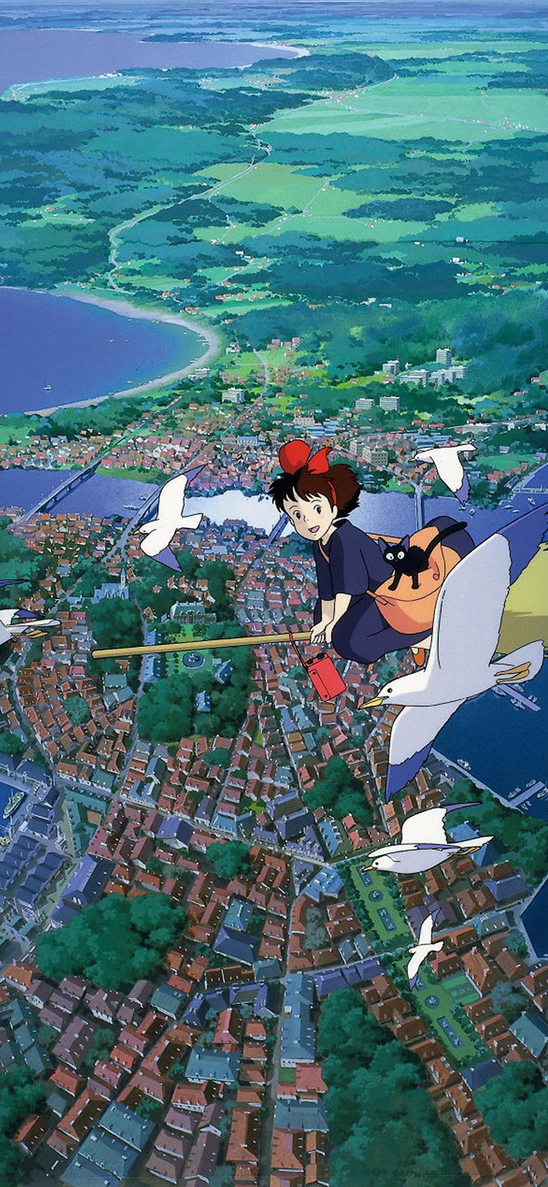iPhoneXpapers.com-Apple-iPhone-wallpaper-as08-studio-ghibli-art-illustration-love-anime