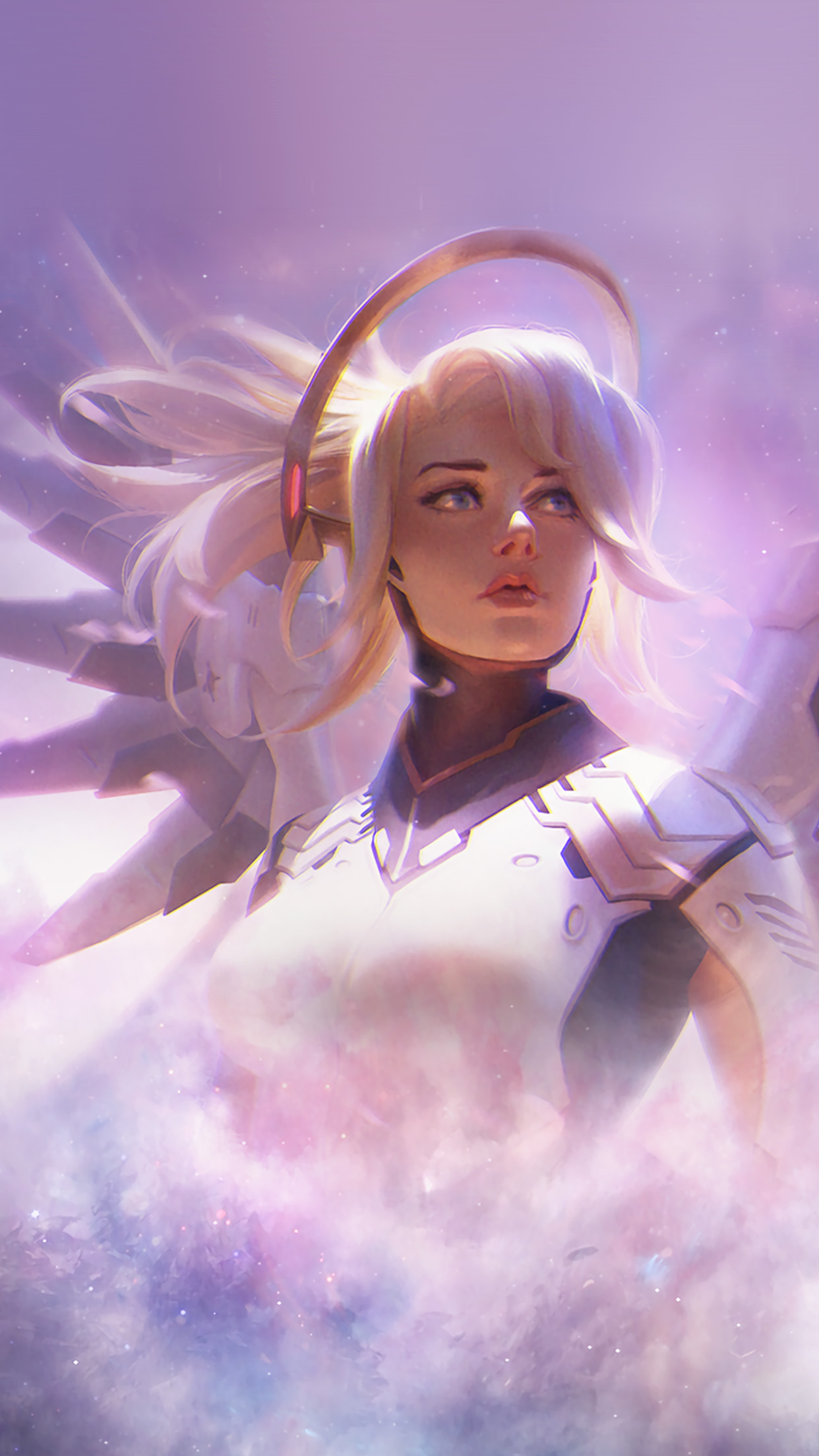 I Love Papers As12 Mercy Overwatch Game Art Illustration