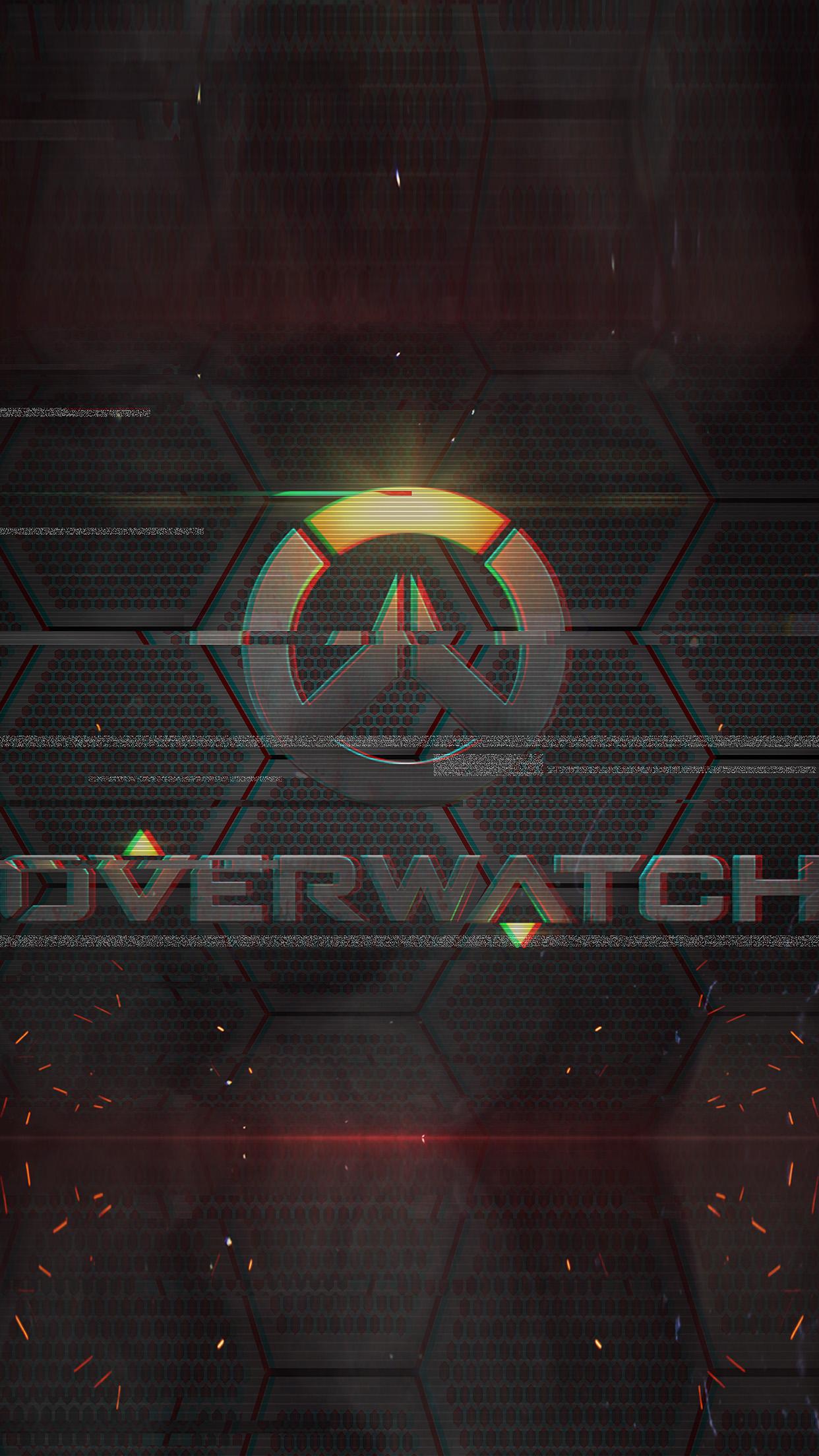 As13 Overwatch Logo Game Art Illustration Wallpaper