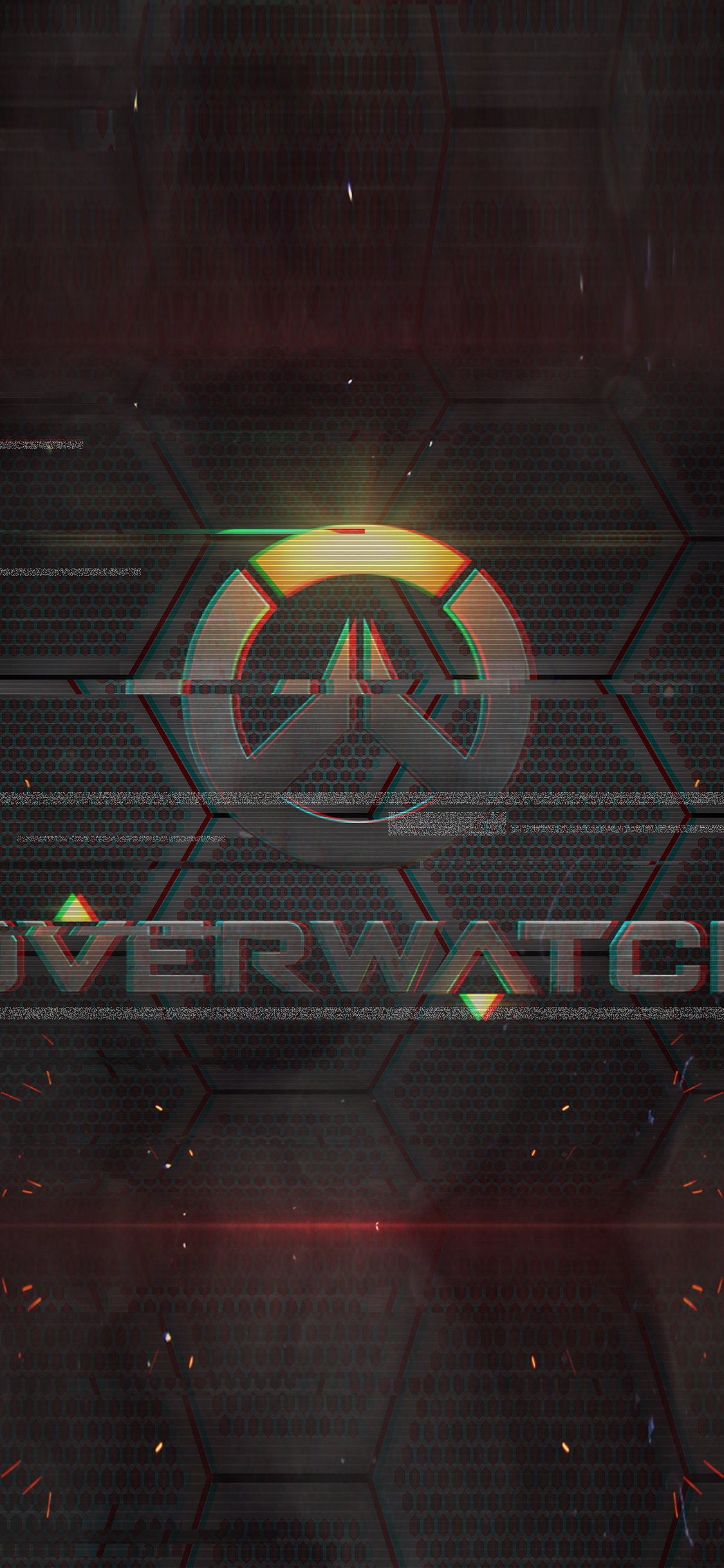 iPhoneXpapers.com-Apple-iPhone-wallpaper-as13-overwatch-logo-game-art-illustration