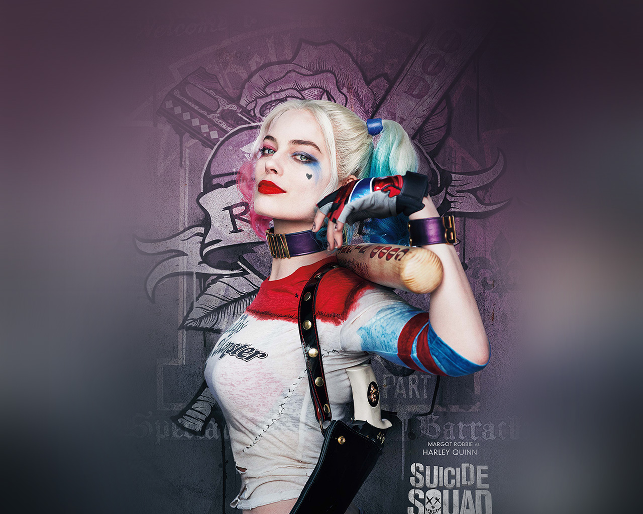 Harley Quinn Wallpaper Suicide Squad: As34-suicide-squad-poster-film-art-hall-harley-quinn-wallpaper