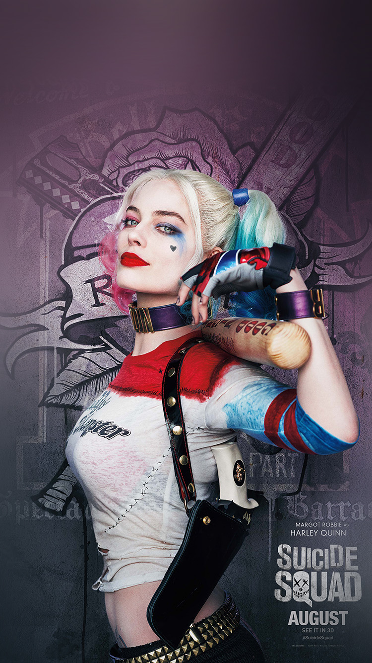 iPhone6papers.co-Apple-iPhone-6-iphone6-plus-wallpaper-as34-suicide-squad-poster-film-art-hall-harley-quinn