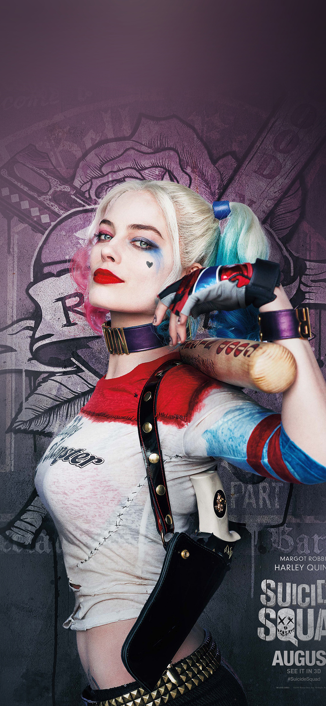 iPhoneXpapers.com-Apple-iPhone-wallpaper-as34-suicide-squad-poster-film-art-hall-harley-quinn