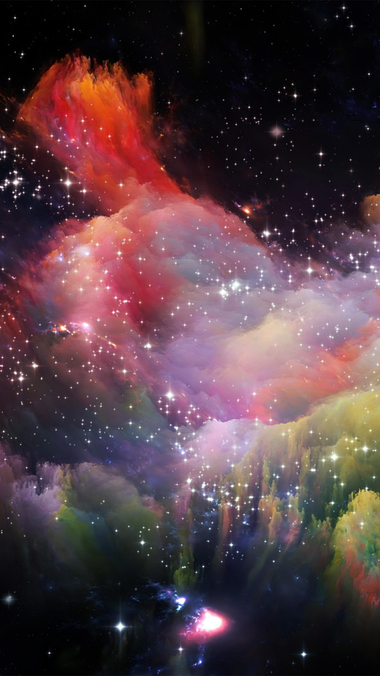Papers.co-iPhone5-iphone6-plus-wallpaper-as36-space-rainbow-colorful-star-art-illustration-red