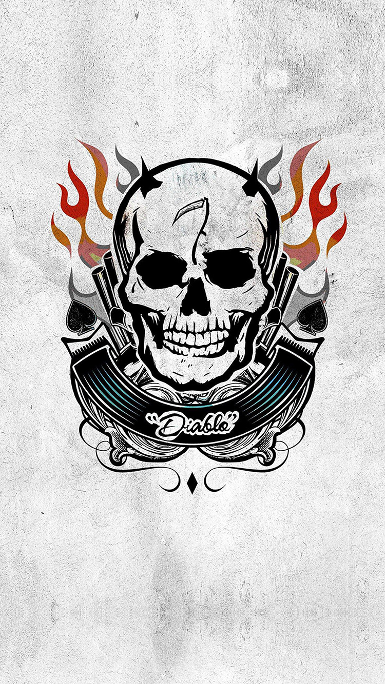 Papers.co-iPhone5-iphone6-plus-wallpaper-as45-diablo-suicide-squad-poster-logo-art-illustration