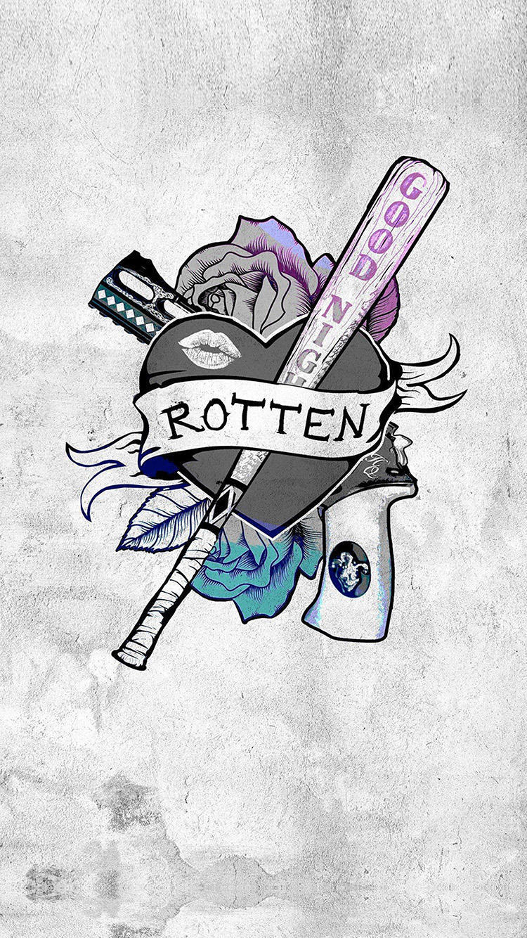 Papers.co-iPhone5-iphone6-plus-wallpaper-as46-harley-quinn-suicide-squad-logp-hero-art-illustration