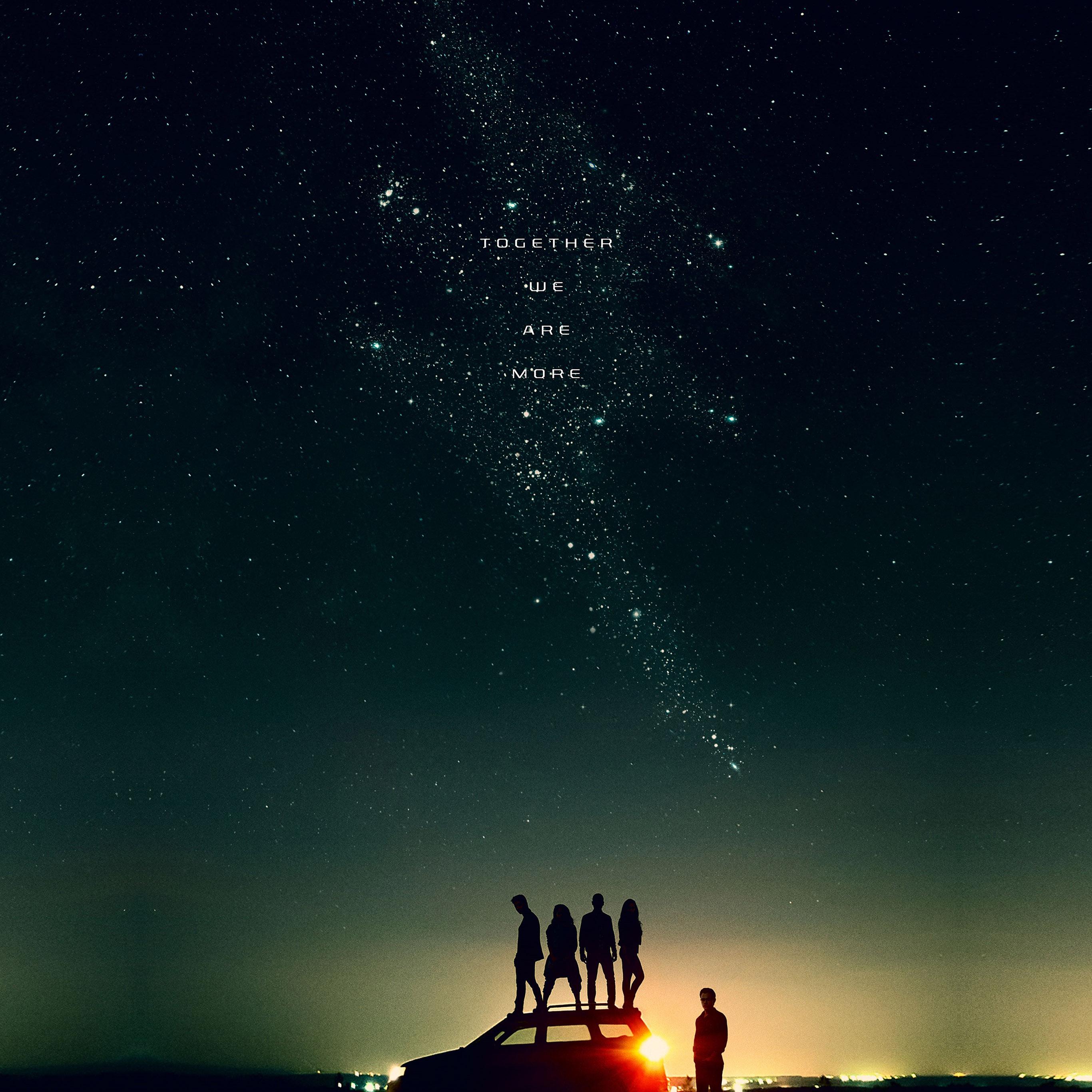 As54 Film Power Rangers Start Sky Night Space Art Illustration