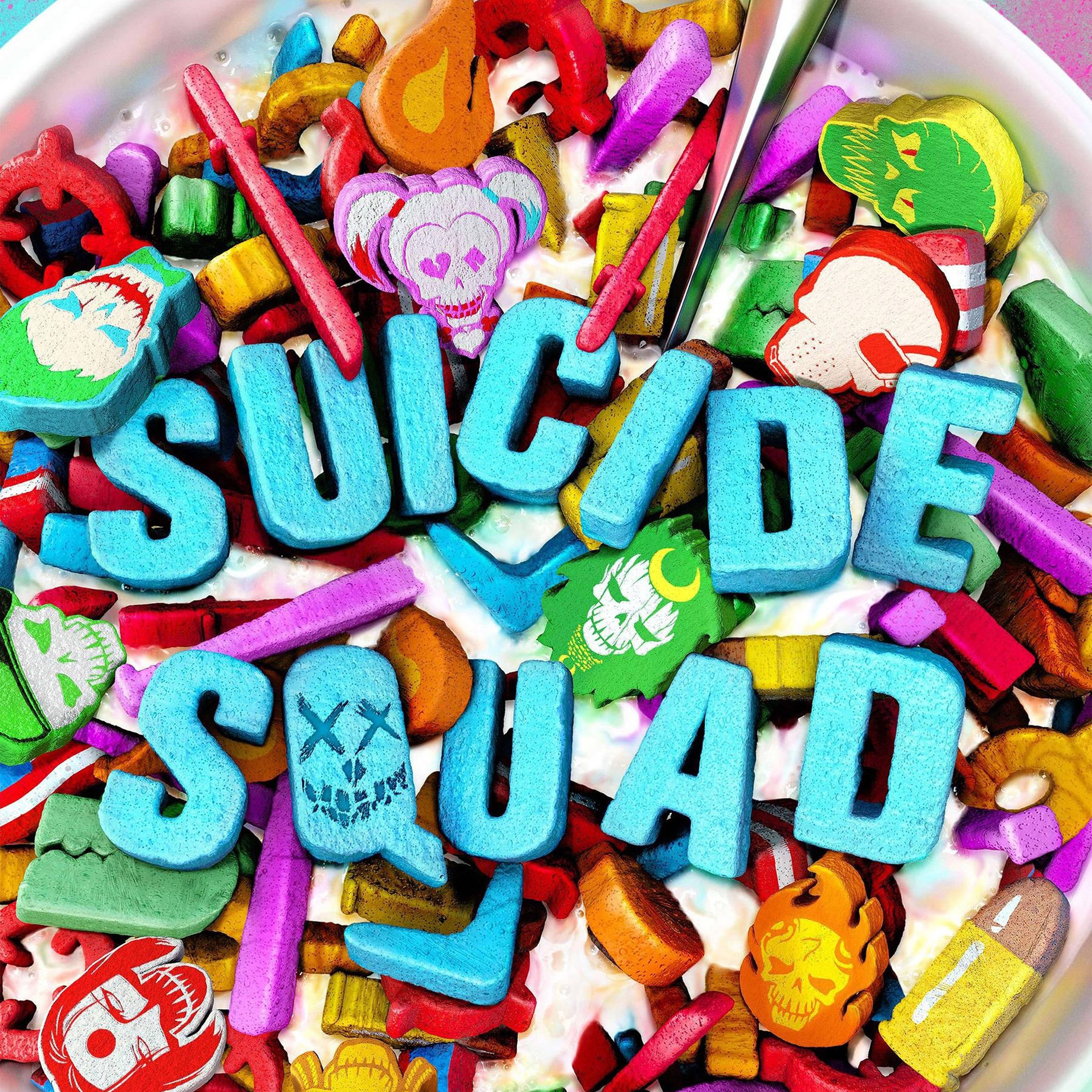 As55 Suicide Squad Corn Meal Food Art Illustration Wallpaper