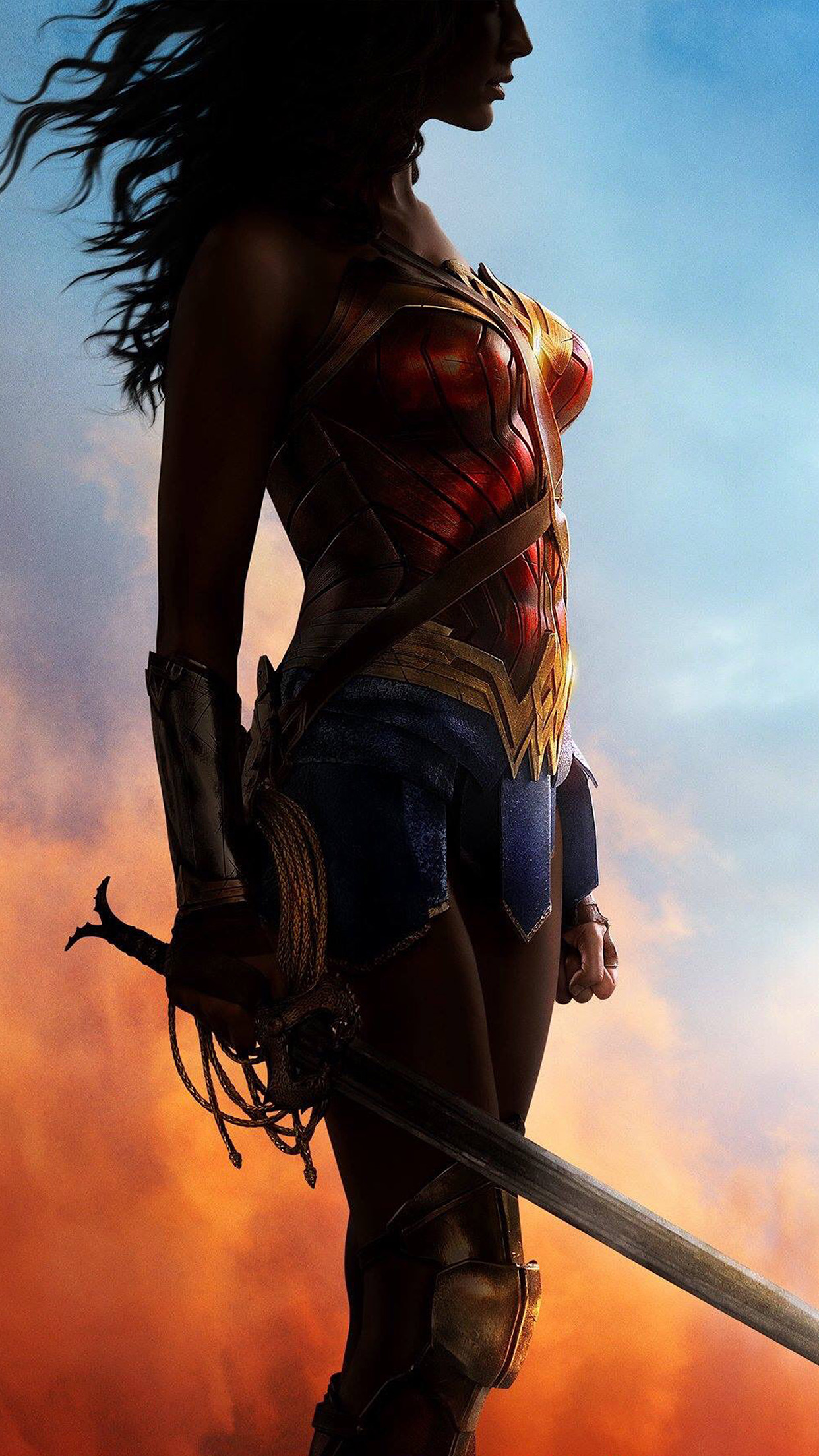 Iphone wallpaper as56 wonder woman art - Classic art wallpaper iphone 5 ...