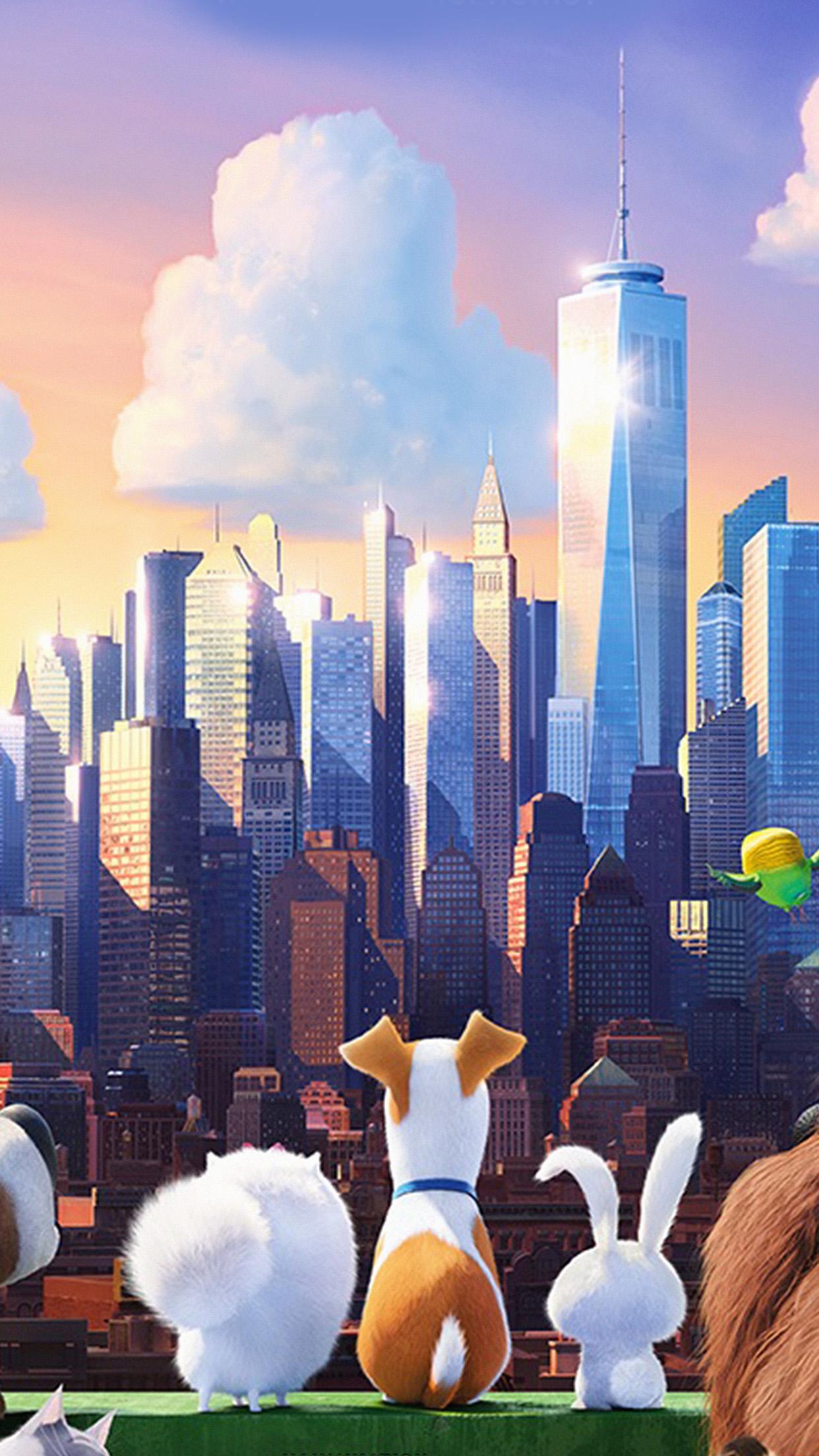 As60 Secret Life Of Pets Animation Art Illustration Wallpaper