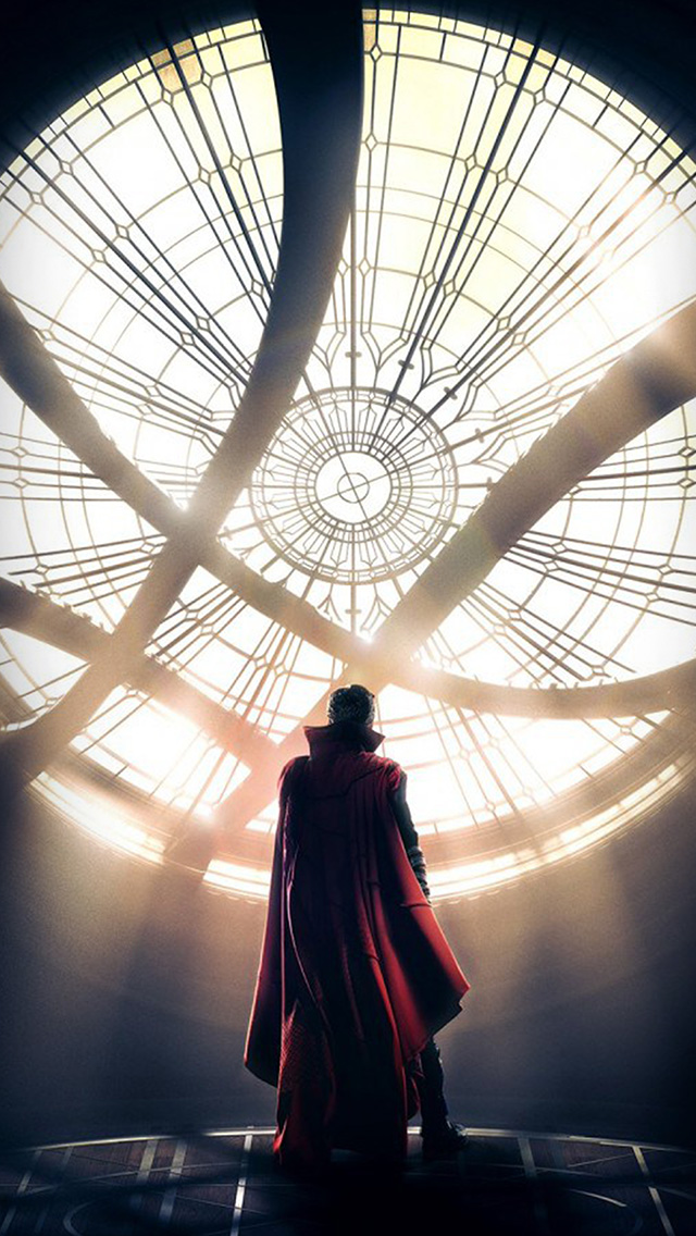 freeios8.com-iphone-4-5-6-plus-ipad-ios8-as62-doctor-strange-disney-poster-art-illustration