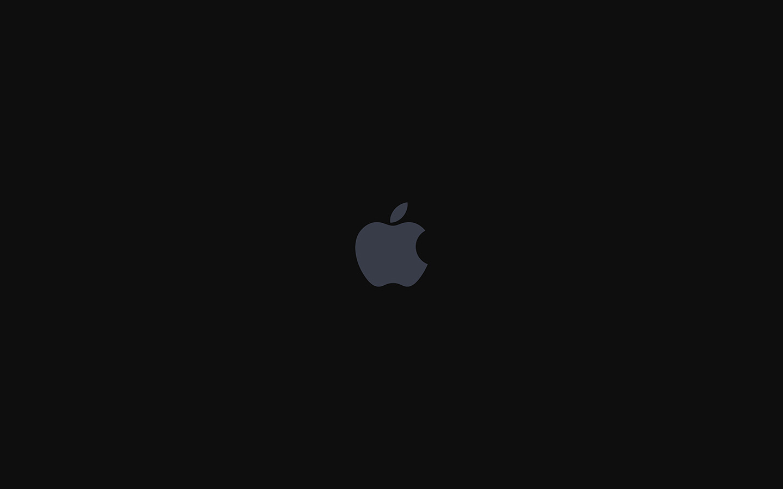 As68 Iphone7 Apple Logo Dark Art Illustration Wallpaper