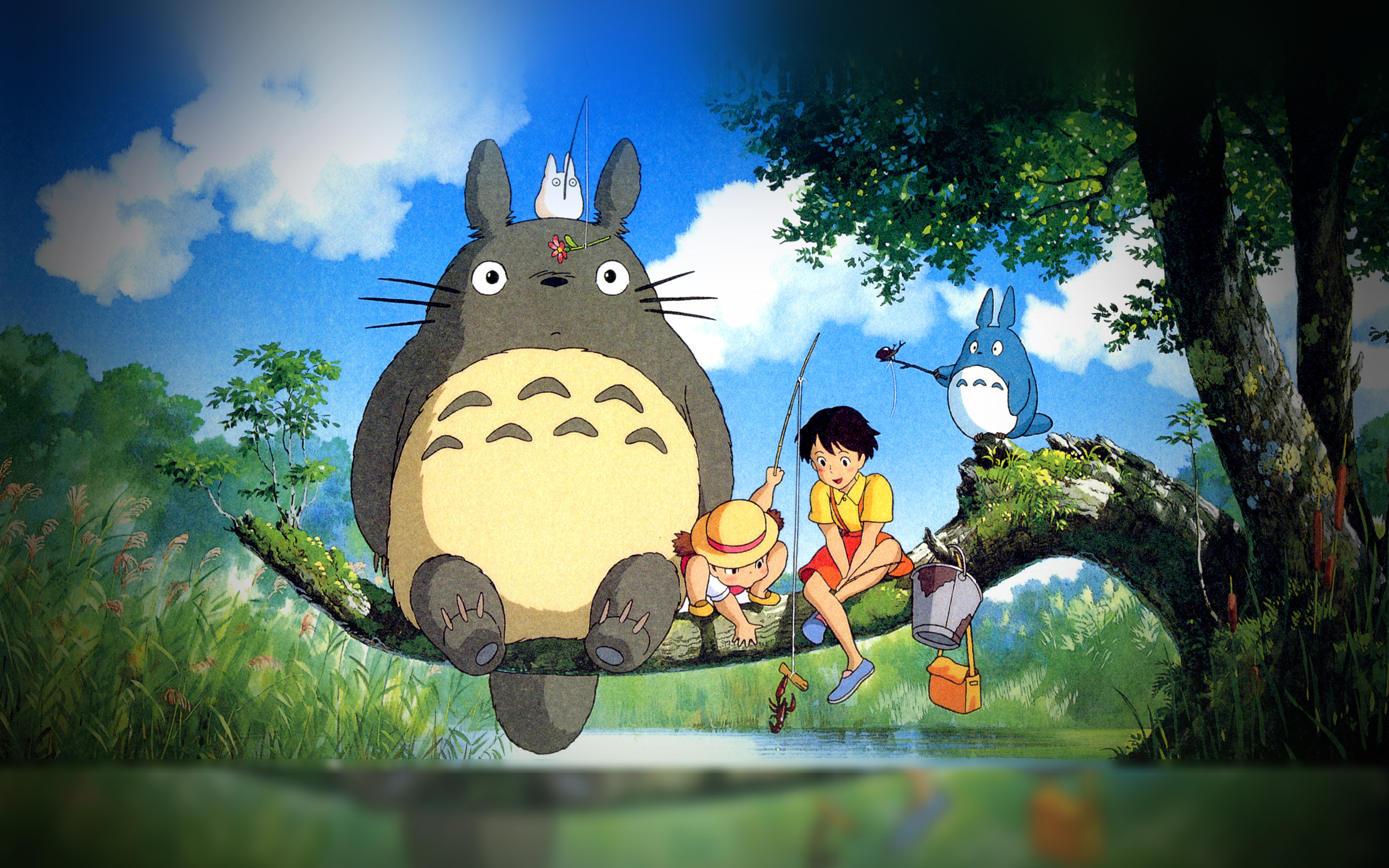 As73 My Neighbor Totoro Anime Art Illustration Wallpaper