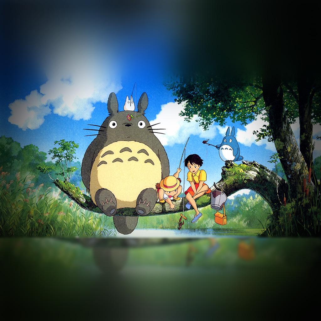 wallpaper-as73-my-neighbor-totoro-anime-art-illustration-wallpaper