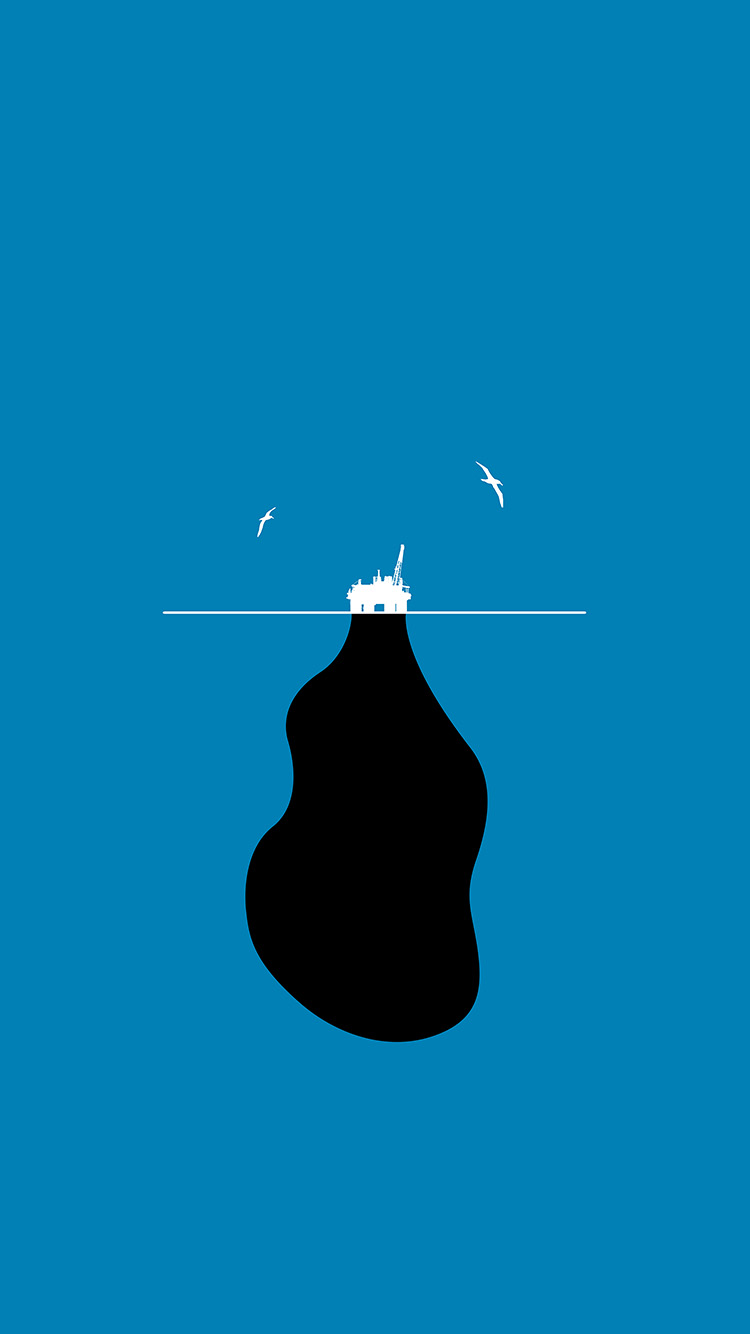 Papers.co-iPhone5-iphone6-plus-wallpaper-as74-global-warming-oil-art-illustration