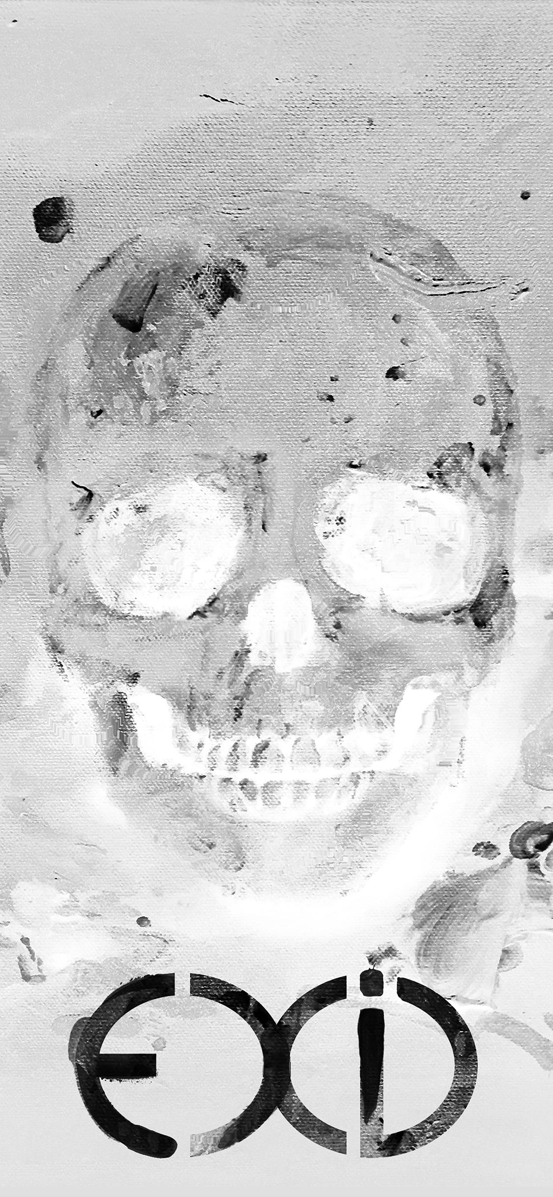 iPhoneXpapers.com-Apple-iPhone-wallpaper-as82-kpop-exid-cover-skull-white-art-illustration