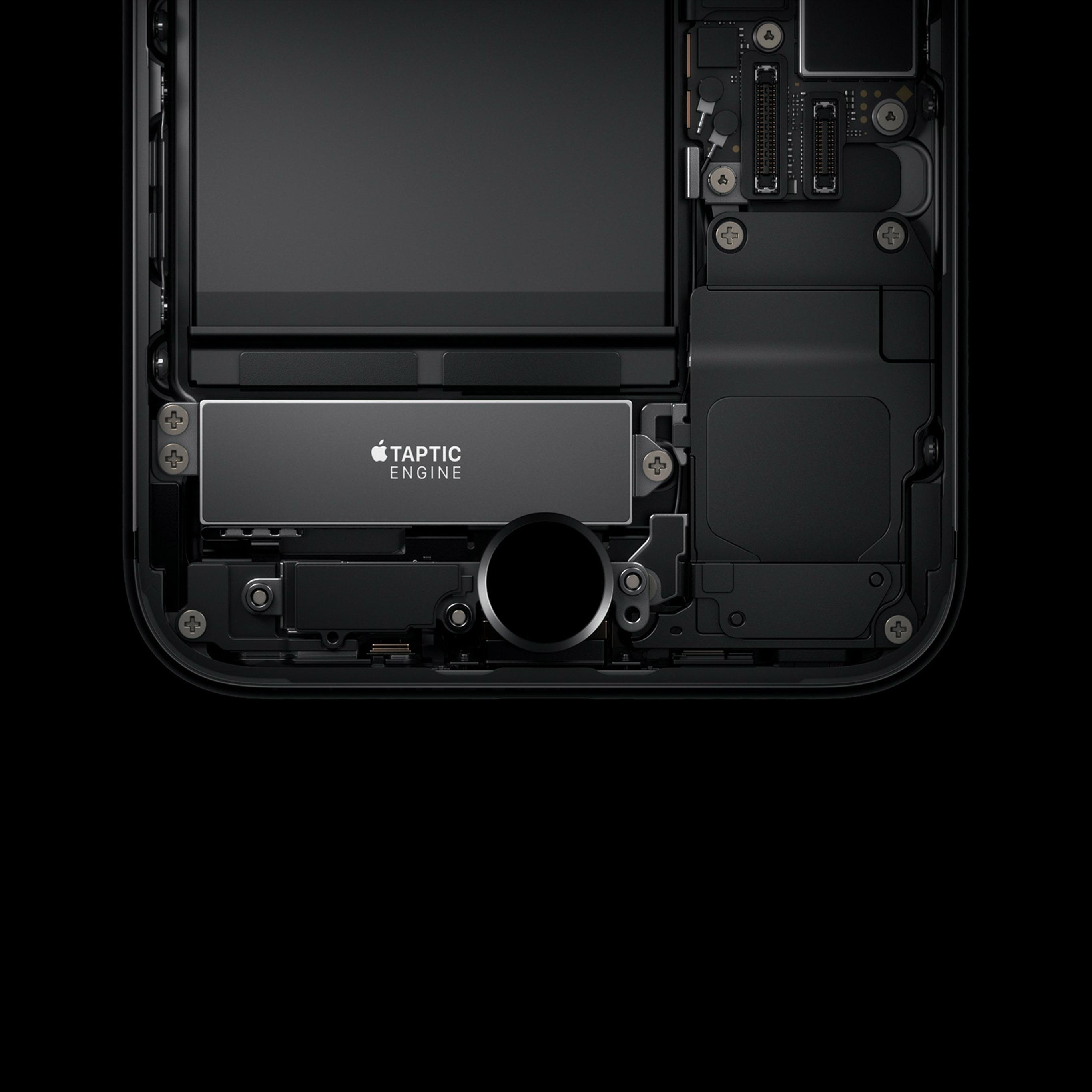 As87 Dark Minimal Iphone7 Haptic Art Illustration Apple