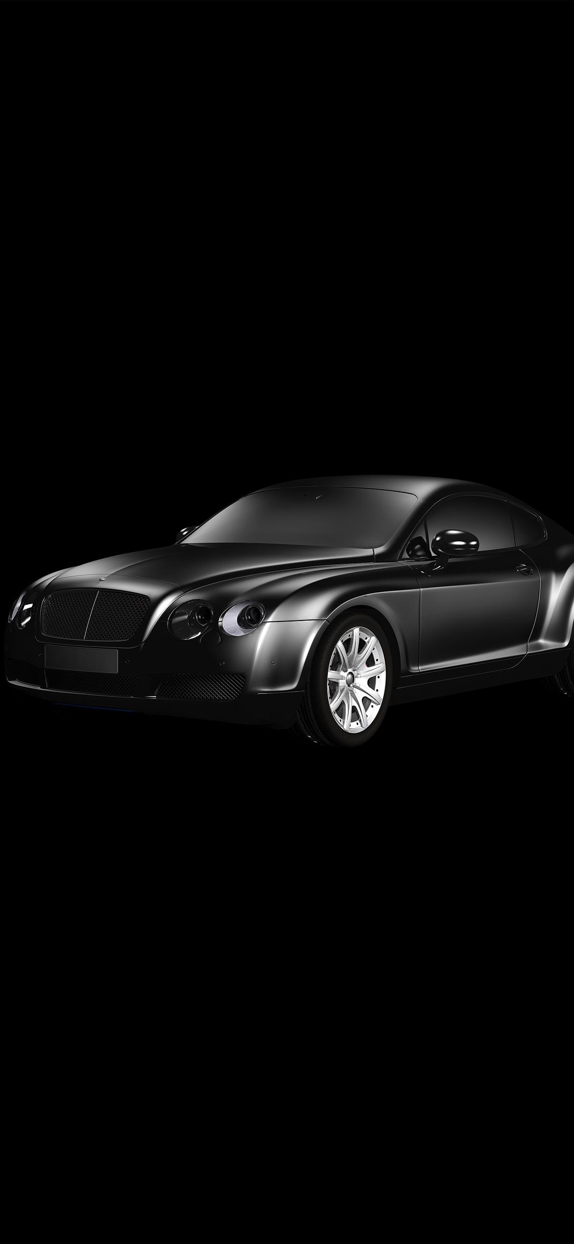 At00 Car Bentley Dark Black Limousine Art Illustration Wallpaper