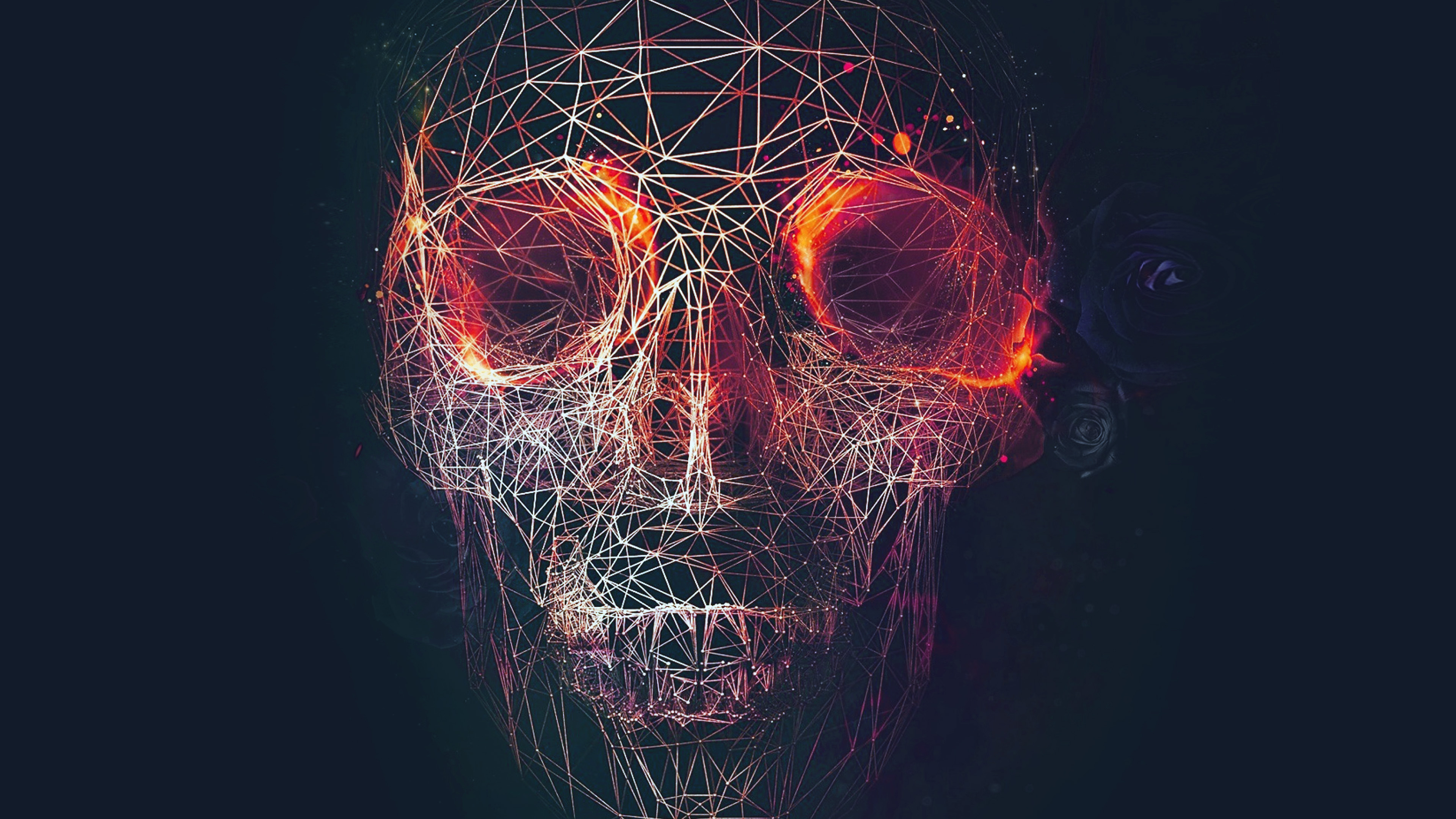 at03-digital-skull-dark-abstract-art-illustration-red ...