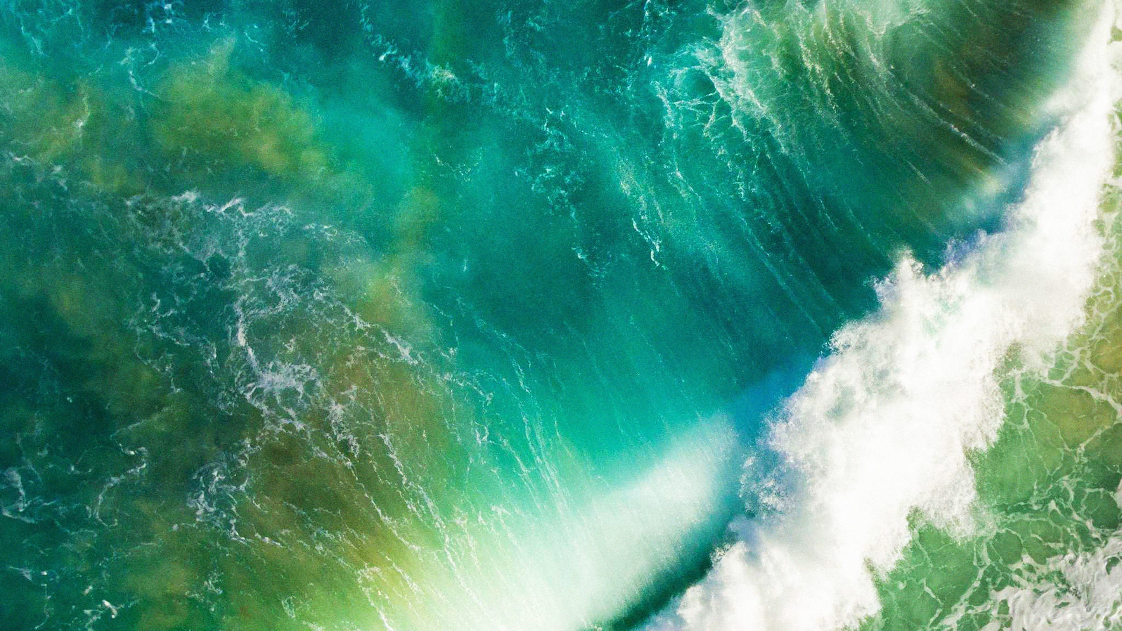 At05 Ios10 Apple Iphone7 Wave Waterfall Official Art Illustration