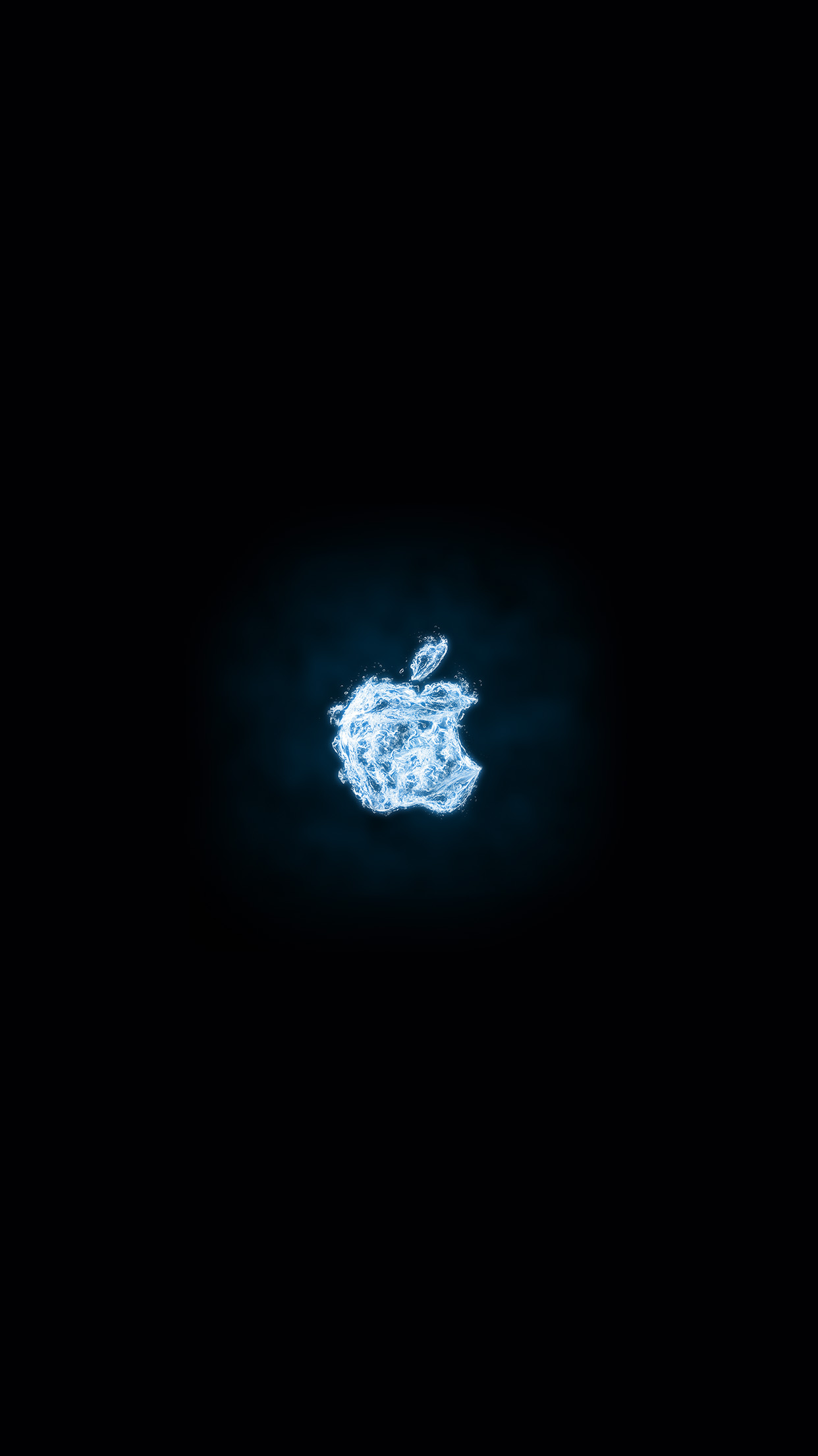 Iphone wallpaper at06 apple logo dark water - Classic art wallpaper iphone 5 ...