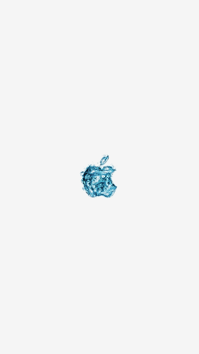 freeios8.com-iphone-4-5-6-plus-ipad-ios8-at08-apple-logo-water-white-blue-art-illustration