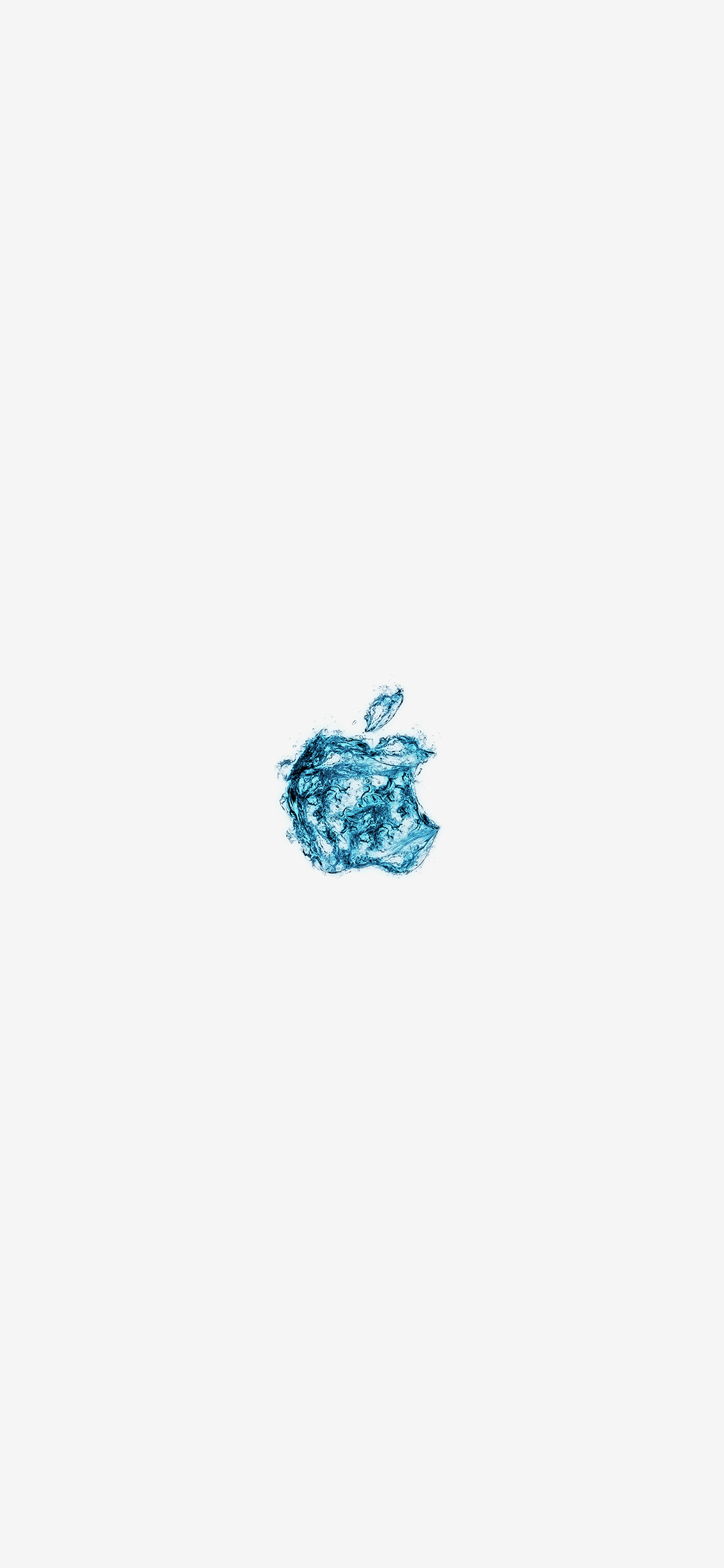 iPhoneXpapers.com-Apple-iPhone-wallpaper-at08-apple-logo-water-white-blue-art-illustration