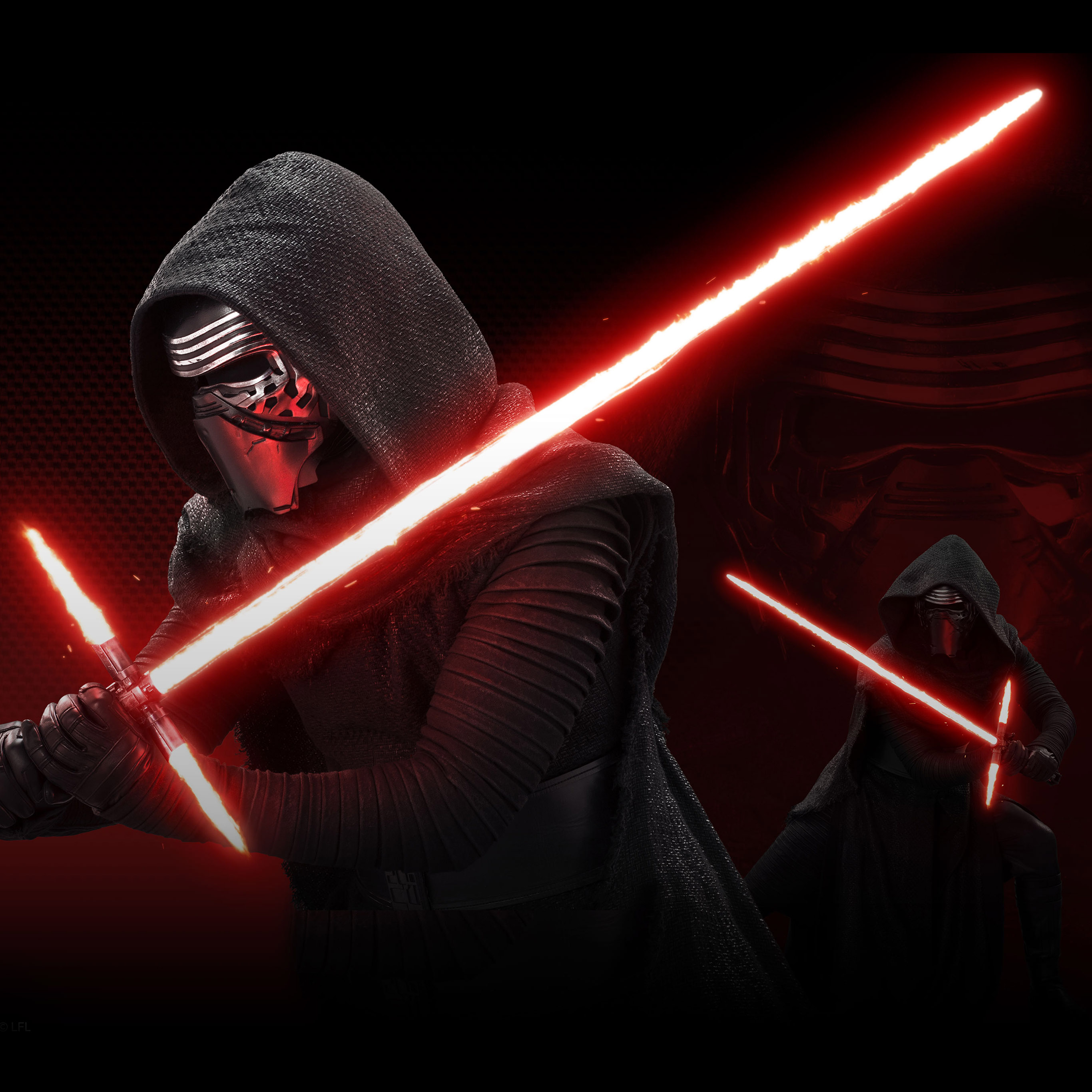 Androidpapers Co Android Wallpaper At10 Starwars Kylo Ren Dark