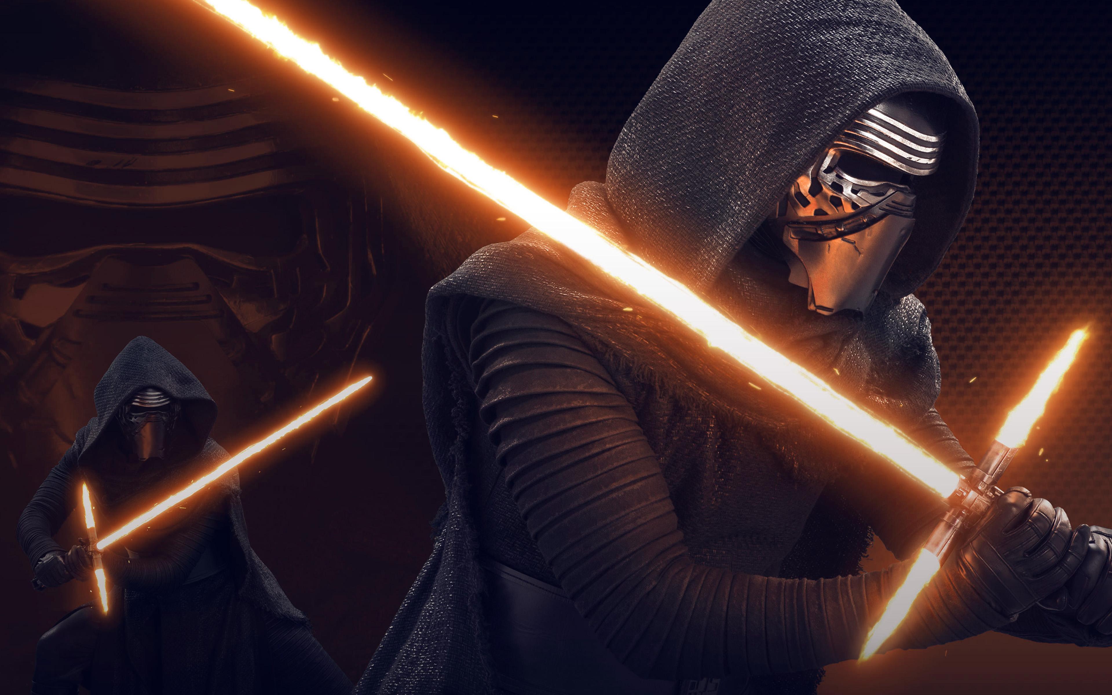 at11-starwars-kylo-ren-dark-orange-lightsaber-art ...