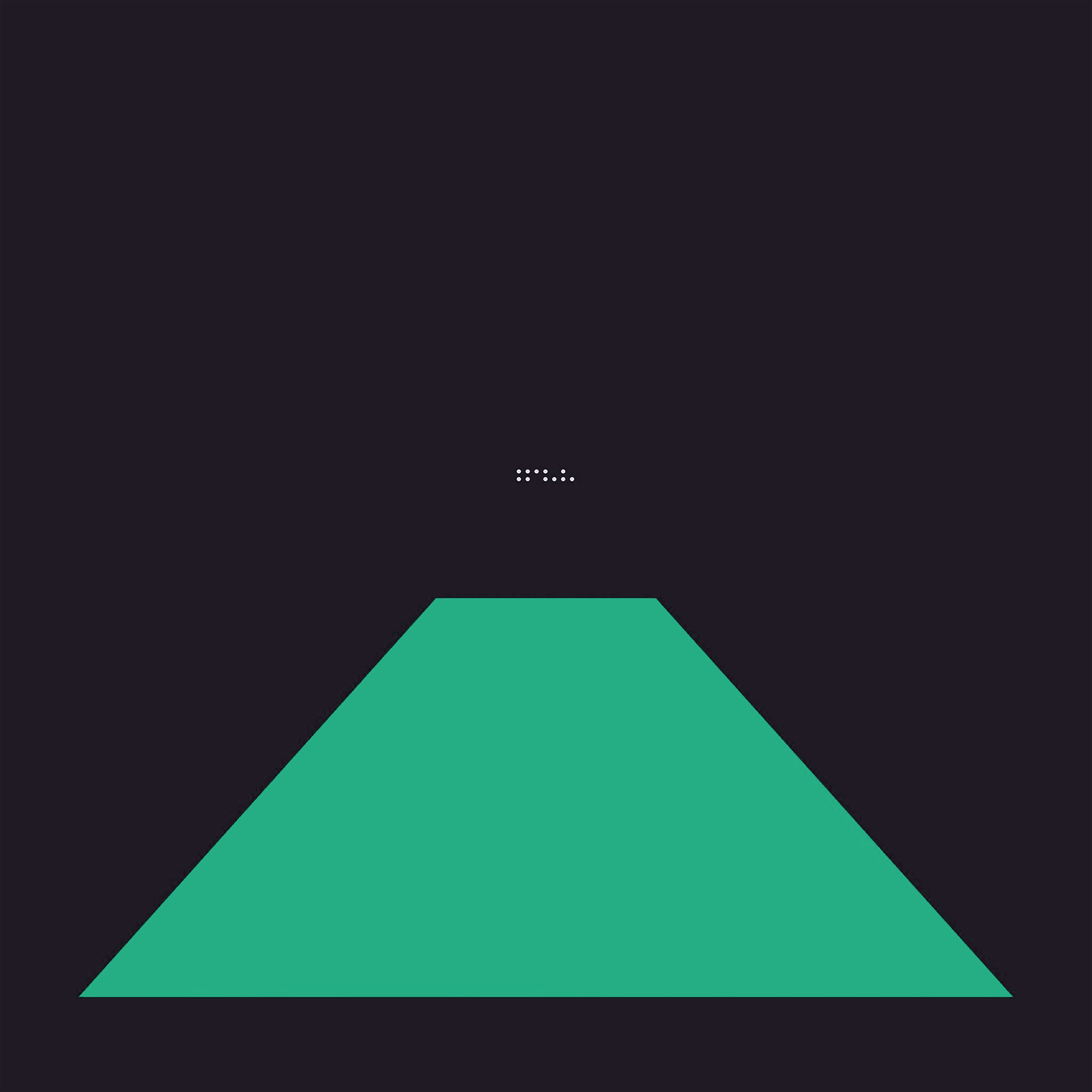 At22 simple tycho blue green dark abstract minimal art for Minimal art vertreter
