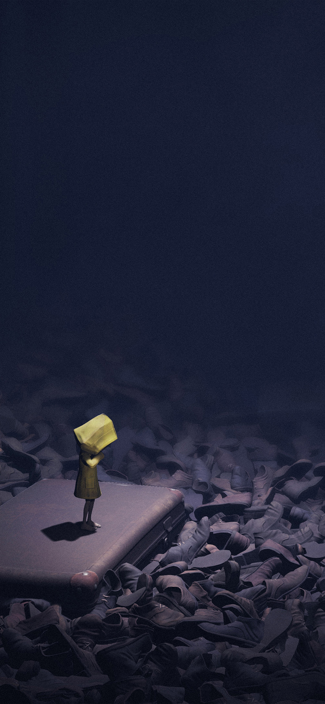 Papers Co Iphone Wallpaper At30 Little Nightmares Dark Anime