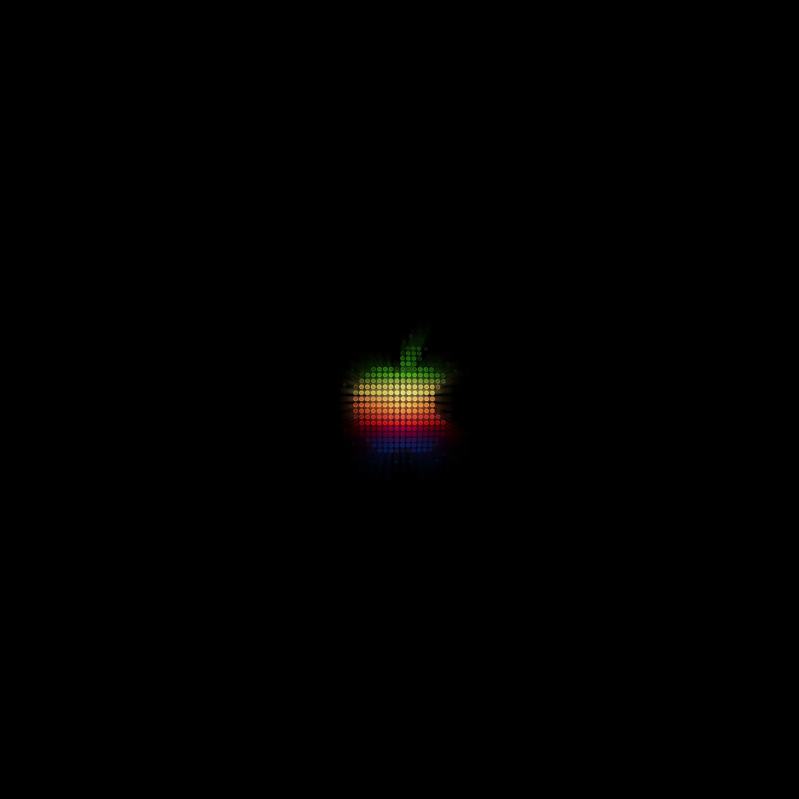At40 Logo Apple Rainbow Pixel Art Illustration Wallpaper