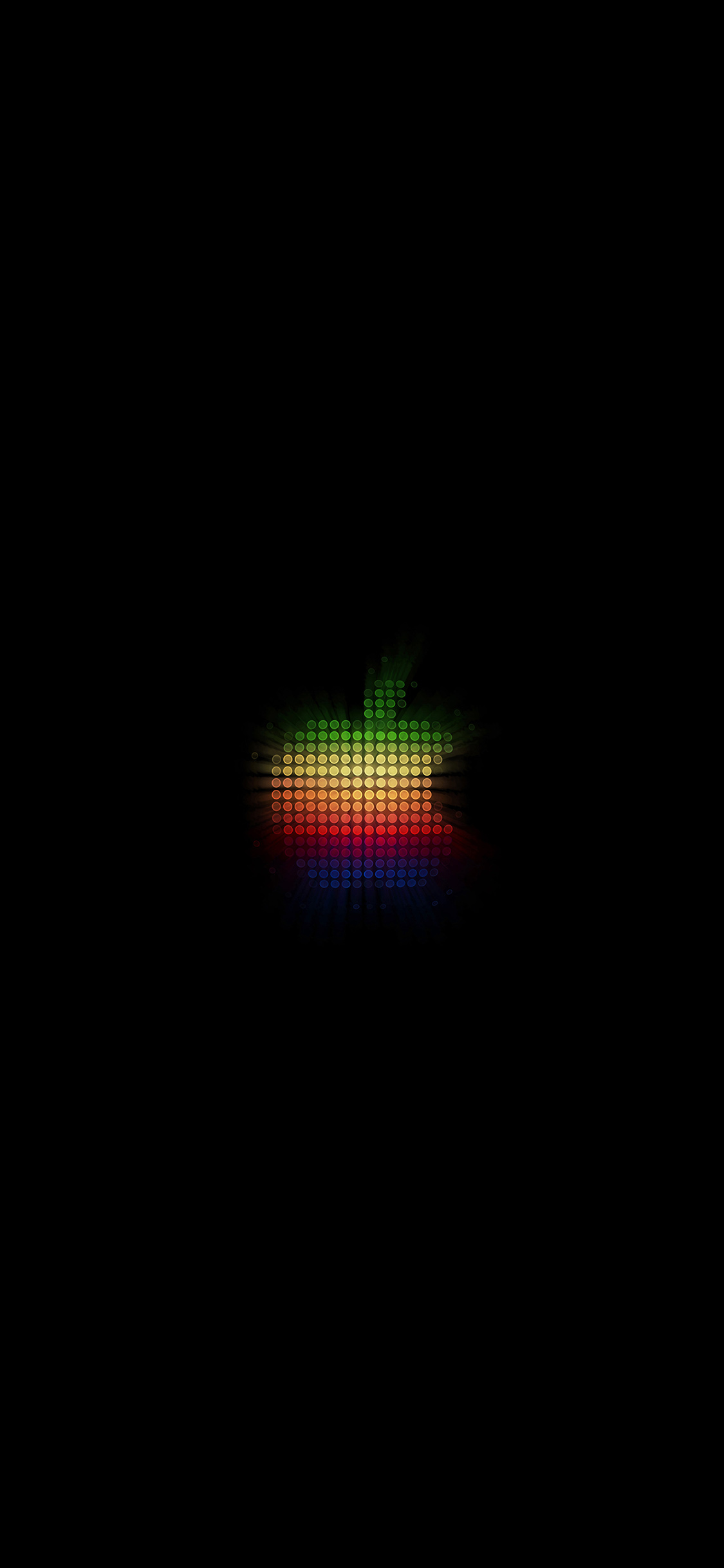 Iphonexpapers Com Iphone X Wallpaper At40 Logo Apple Rainbow Pixel Art Illustration