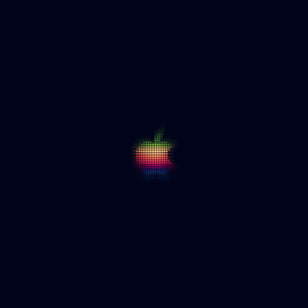iPapers.co-Apple-iPhone-iPad-Macbook-iMac-wallpaper-at41-logo-apple-rainbow-pixel-art-illustration-blue-wallpaper