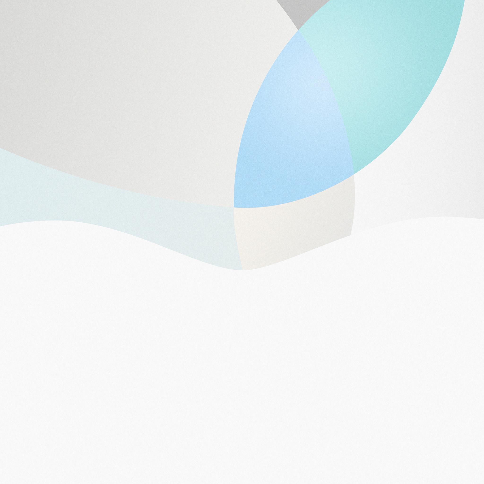 At44 apple mac blue logo minimal art illustration for Minimal art essay