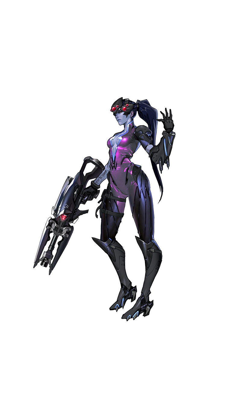 iPhone6papers.co-Apple-iPhone-6-iphone6-plus-wallpaper-at45-overwatch-widowmaker-white-game-art-illustration