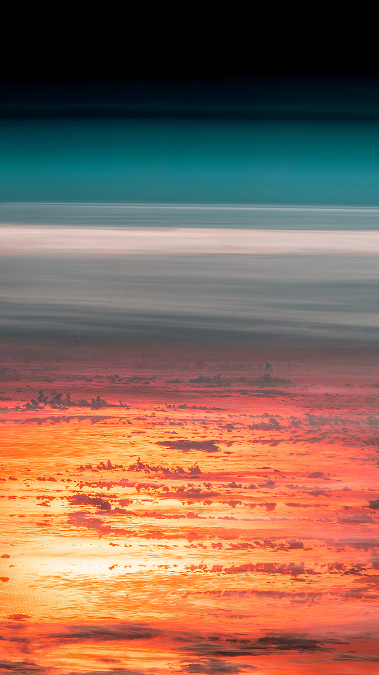 iPhone6papers.co-Apple-iPhone-6-iphone6-plus-wallpaper-at67-sunset-sky-from-space-art-red-earthview-illustration