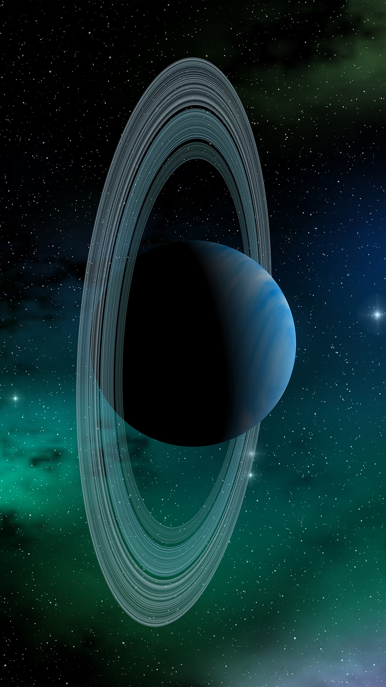 I Love Papers | at78-space-planet-saturn-blue-star-art ...